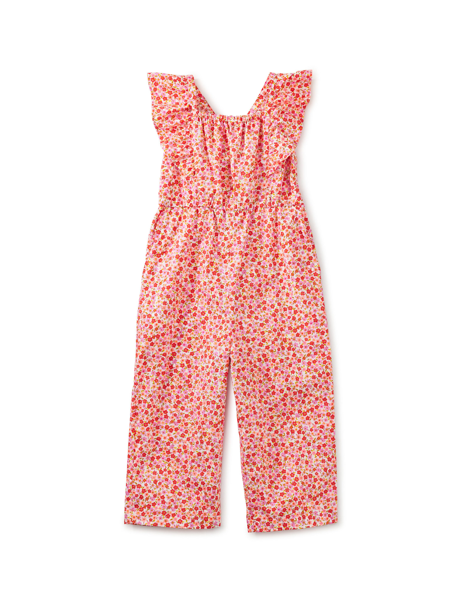 Tea Collection Flutter Jumpsuit- Wildflowers