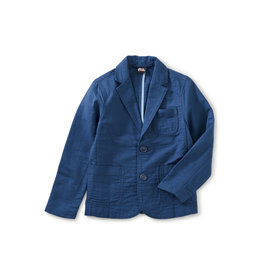 Tea Collection Destination Blazer- Cobalt