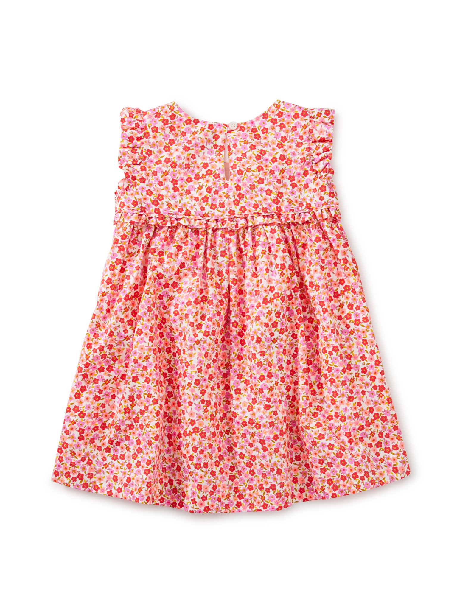 Tea Collection Empire Flutter Baby Dress- Wildflowers