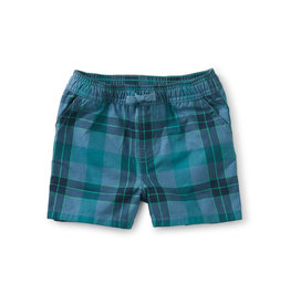 Tea Collection Plaid Discovery Baby Shorts