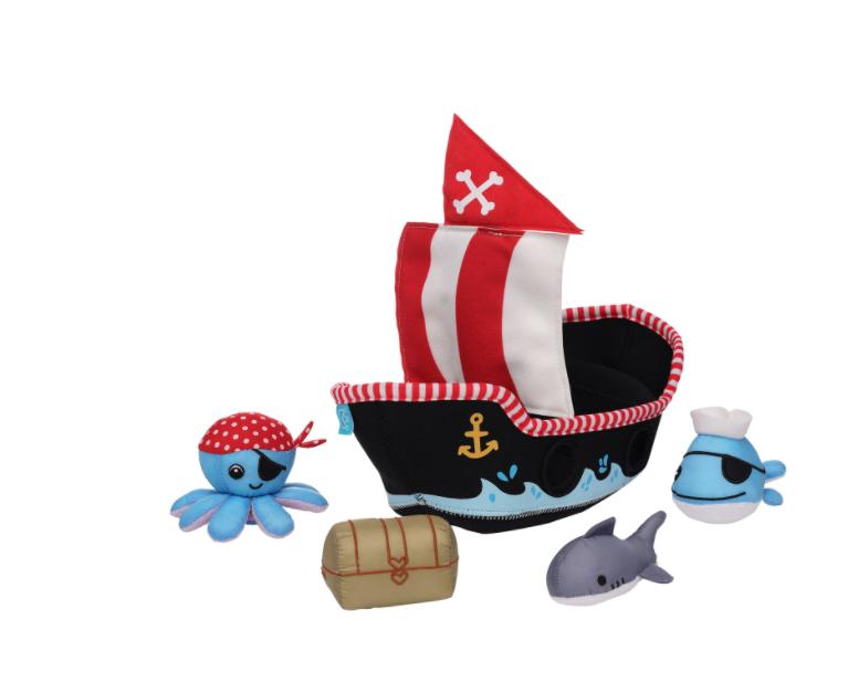 Manhattan Toys Pirate Ship Floating Fill n Spill Bath Toy