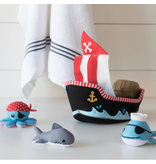 Manhattan Toys Pirate Ship Floating Fill n Spill Bath Toy