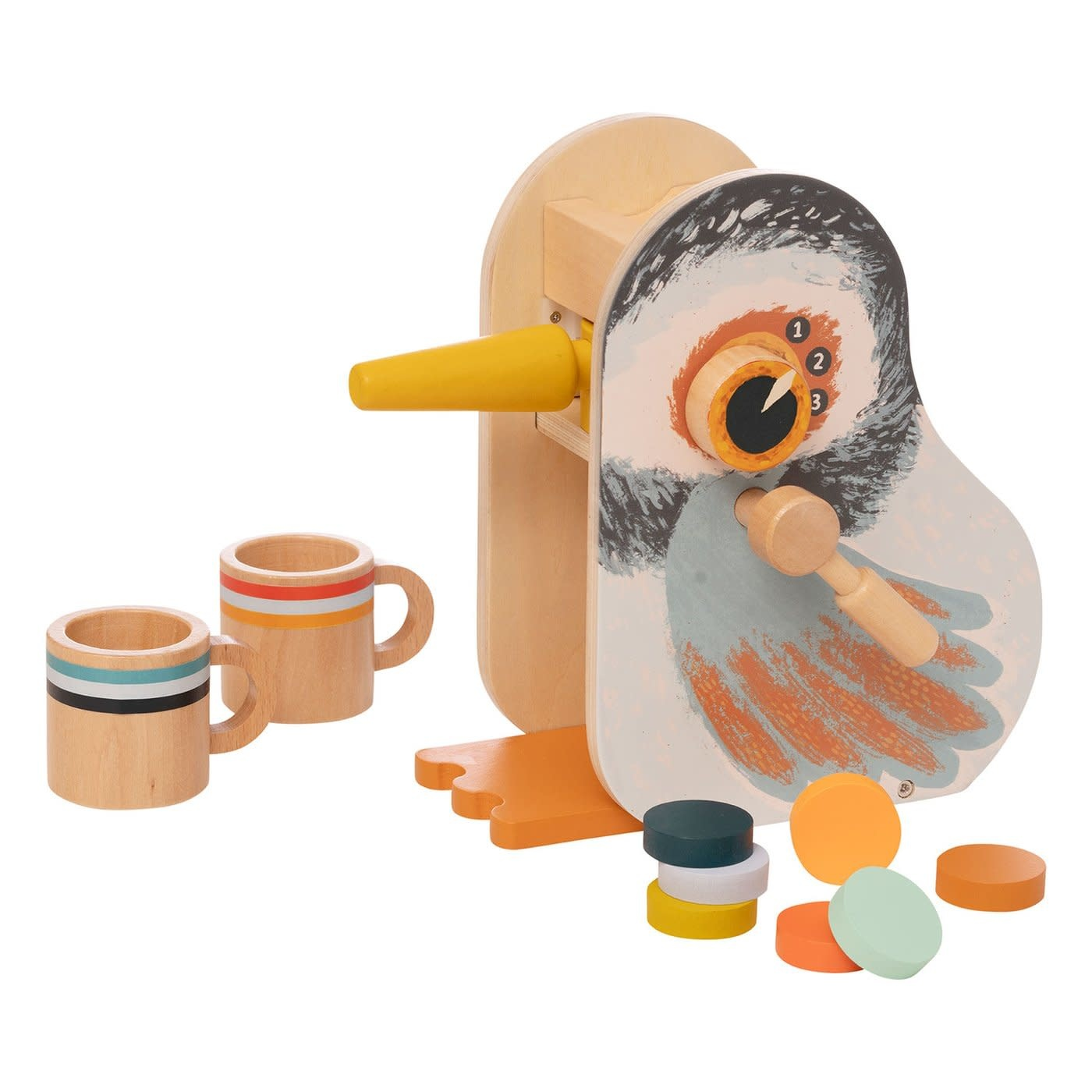 Manhattan Toys Early Bird Espresso