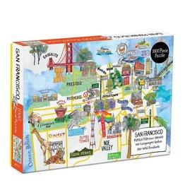 Hachette San Francisco 1000 Piece Puzzle