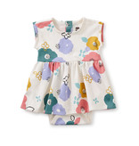 Tea Collection Sweet Sightings Baby Dress- Floral