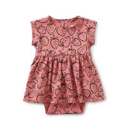 Tea Collection Sweet Sightings Baby Dress- Strawberries