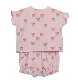 Siaomimi Red Tulip Layette Set