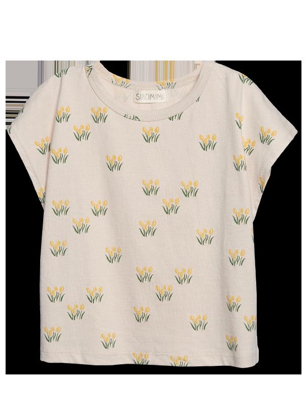 Siaomimi Yellow Tulip Tee