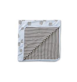 Tea Collection Reversible Blanket- Hedgehog