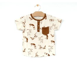 City Mouse Dogs Pocket Tee