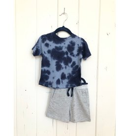 Splendid Wavey Tie Dye Tee Set