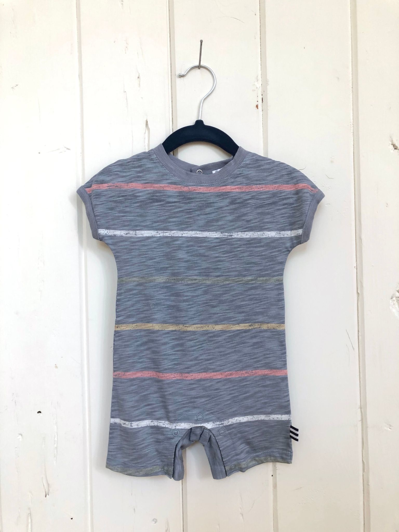 Splendid Painted Stripe Coverall