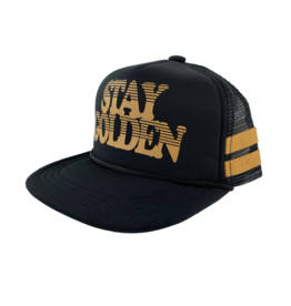 Tiny Whales Stay Golden Baby Trucker Hat