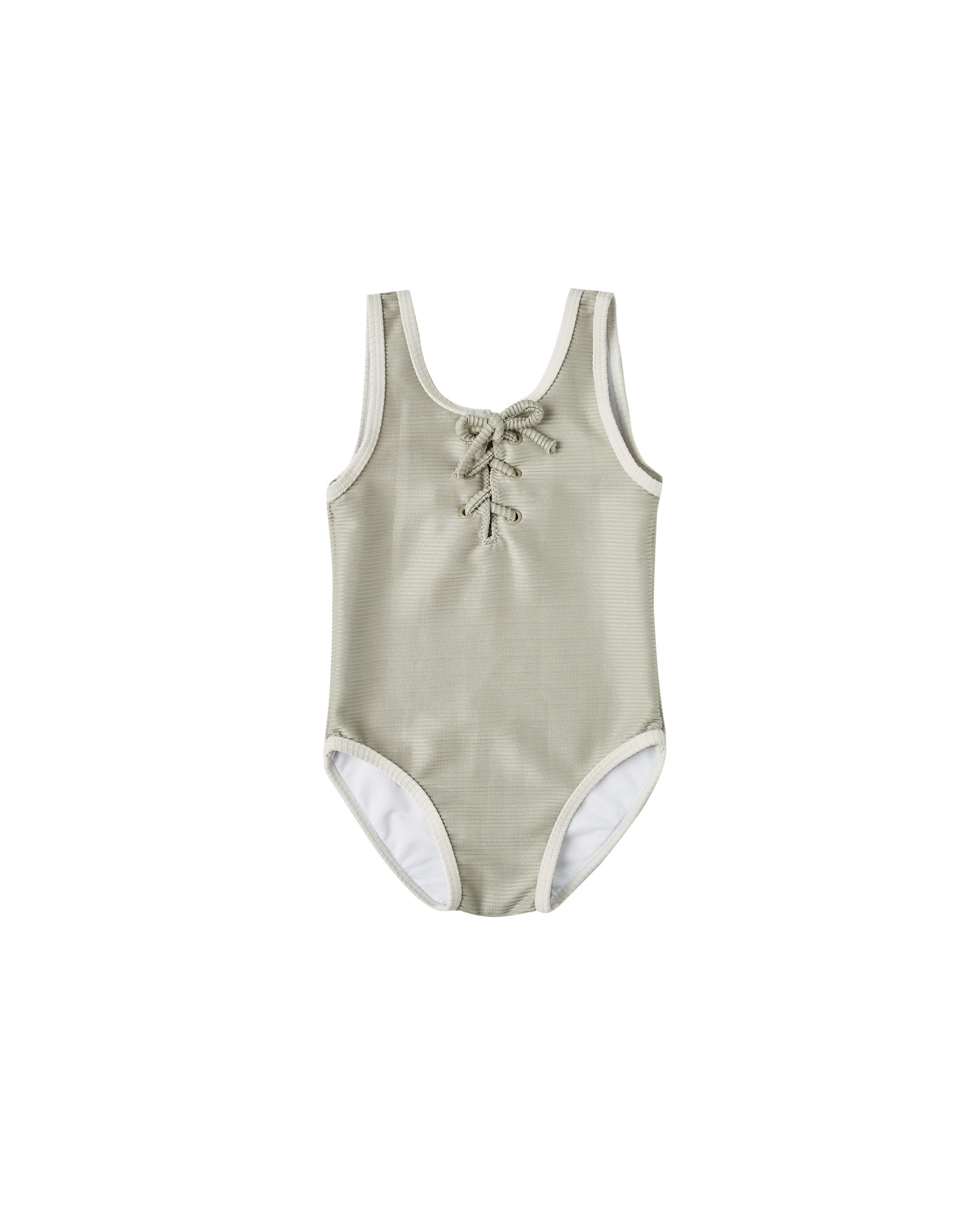 Rylee & Cru Laced Swimsuit - Sage