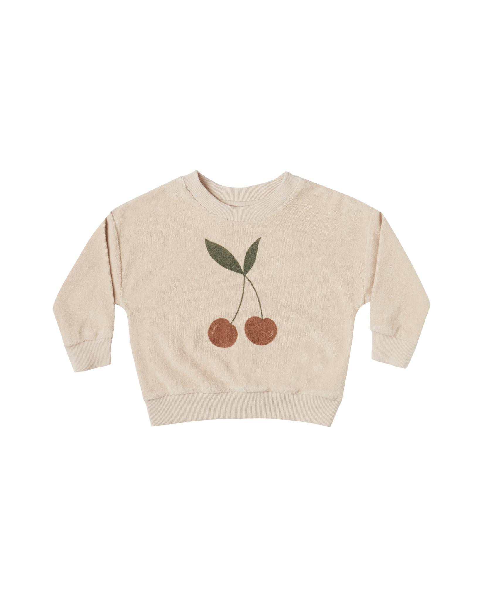 Rylee & Cru Cherry Sweatshirt