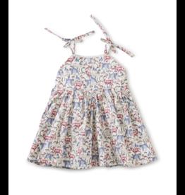 Tea Collection Tie Shoulder Baby Dress