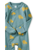 Tea Collection Footed Baby Romper - Lions