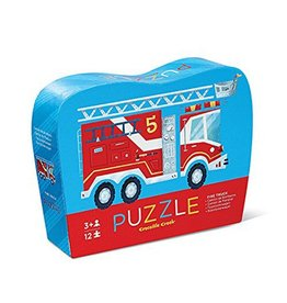 Crocodile Creek Fire Truck Mini Puzzle 12 pc