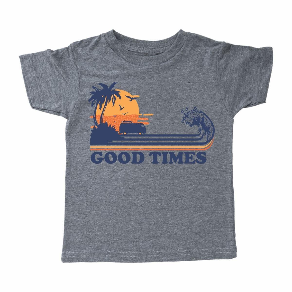 Tiny Whales Good Times Tee