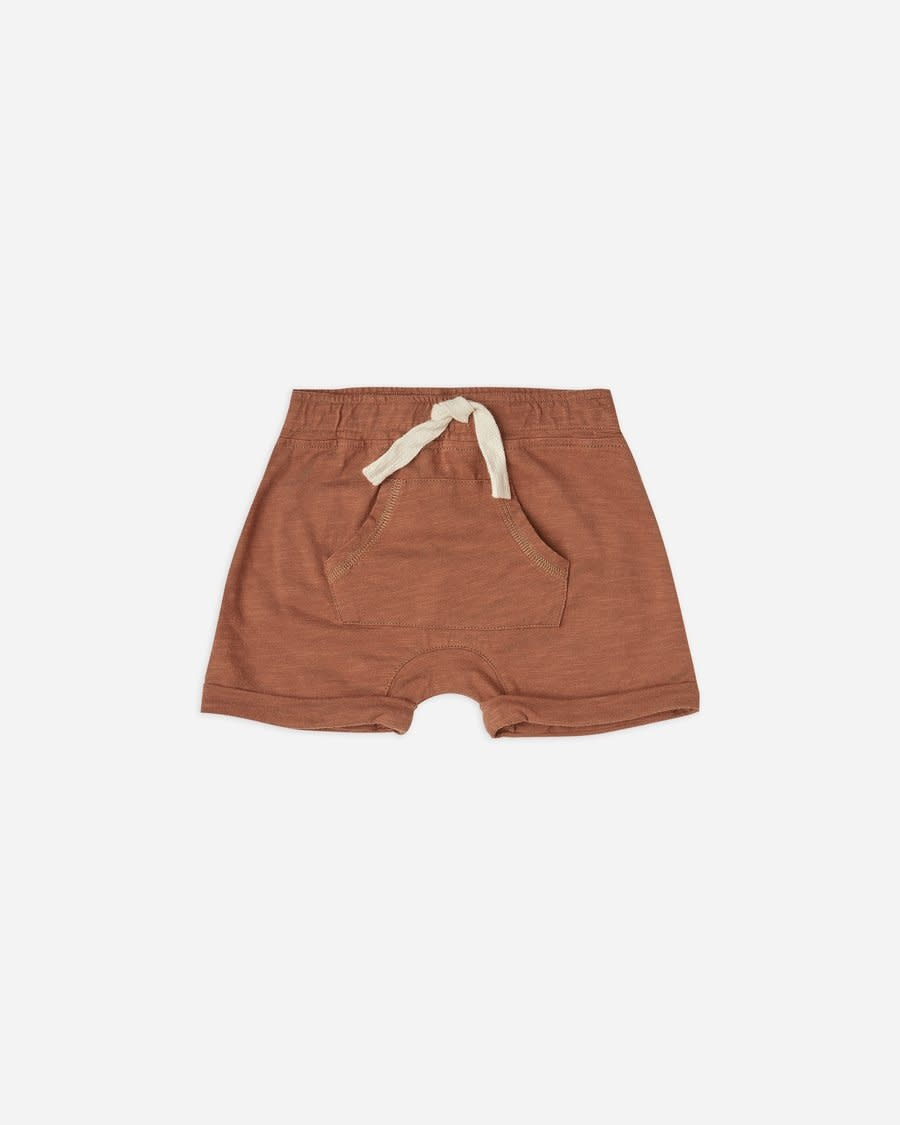 Rylee & Cru Front Pouch Baby Short