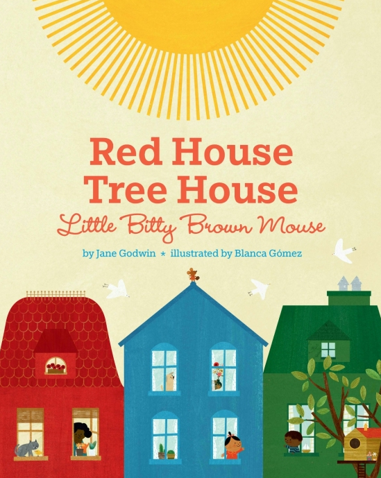 Penguin Random House Red House, Tree House, Little Bitty Brown Mouse