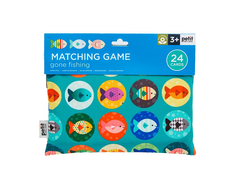 Petit Collage Matching Game - Gone Fishing