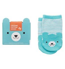 Petit Collage Organic Socks - Baby Bear