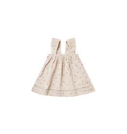 Quincy Mae Woven Ruffle Dress