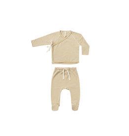 Quincy Mae Wrap Top + Pant Set