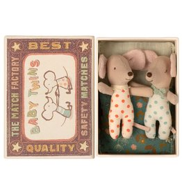 Maileg Baby Twins in Box