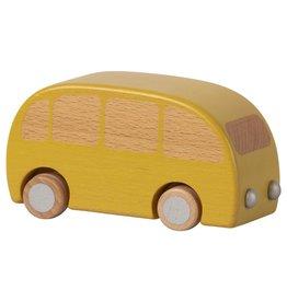 Maileg Wooden Bus - Yellow