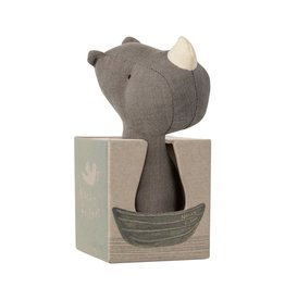 Maileg Rhino Rattle - Noah's Friends