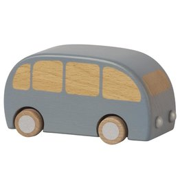 Maileg Wooden Bus - Blue