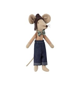 Maileg Racer Dad Mouse