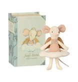 Maileg Angel Stories, Big Sister Mouse in Book