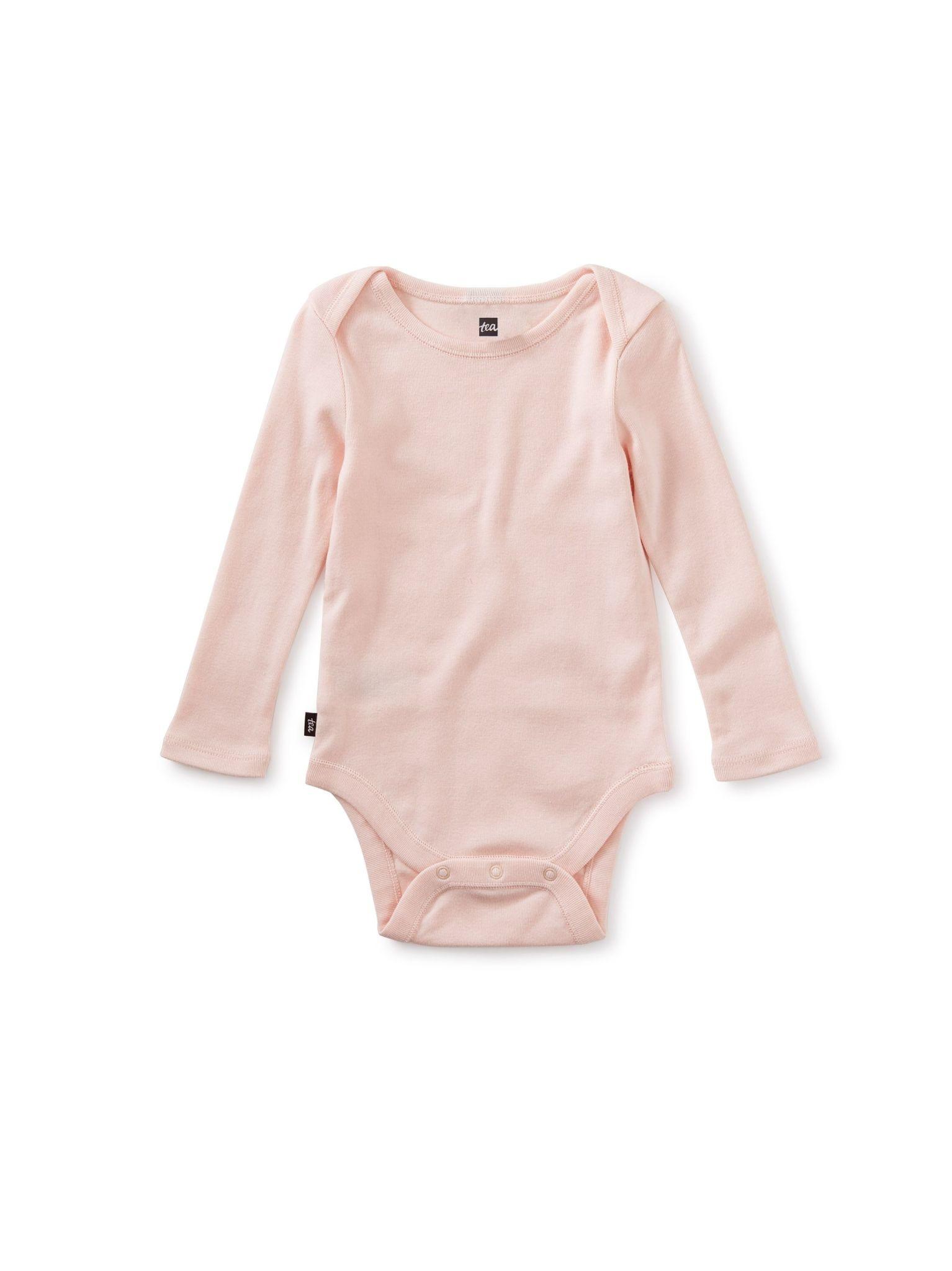Tea Collection Baby Bodysuit - Pink Salt