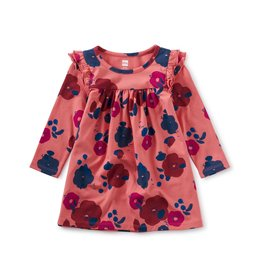 Tea Collection Ruffle Shoulder Baby Dress