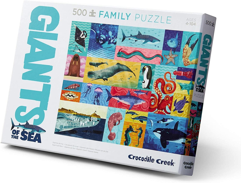 Crocodile Creek 500 pc Giants of the Sea Puzzle