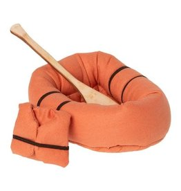 Maileg Rubber Boat, Mouse - Dusty Yellow