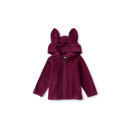 Tea Collection Bunny Baby Hoodie