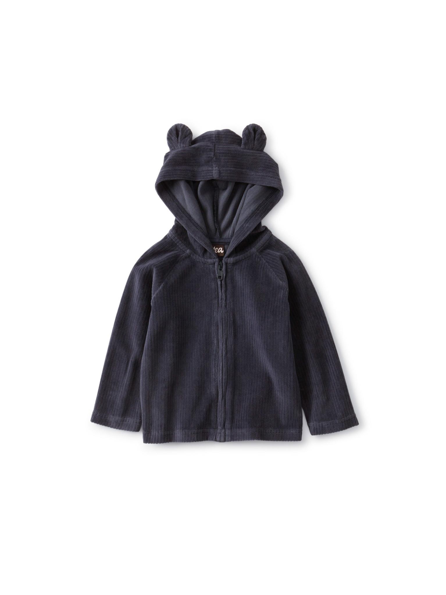 Tea Collection Bear Ear Hoodie - Indigo