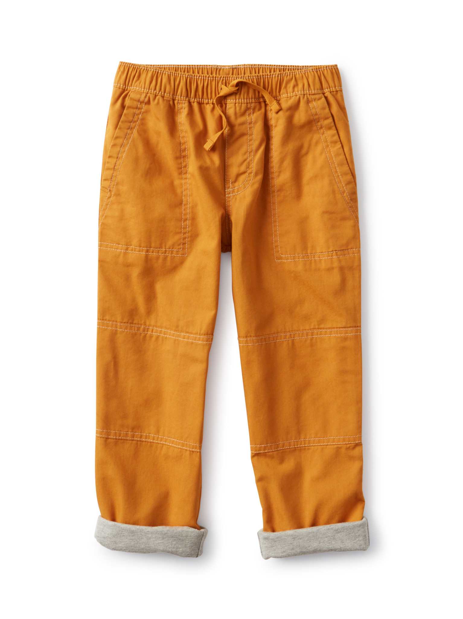 Tea Collection Cozy Jersey Lined Pant - Nugget