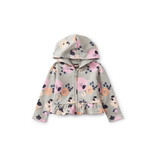 Tea Collection French Terry Hoodie - Little Flowers