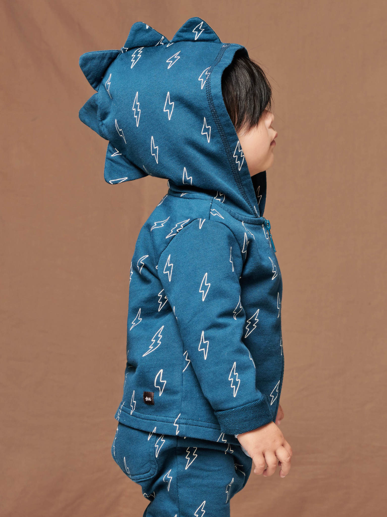 Tea Collection Dinosaur Hoodie - Blixt Bolts