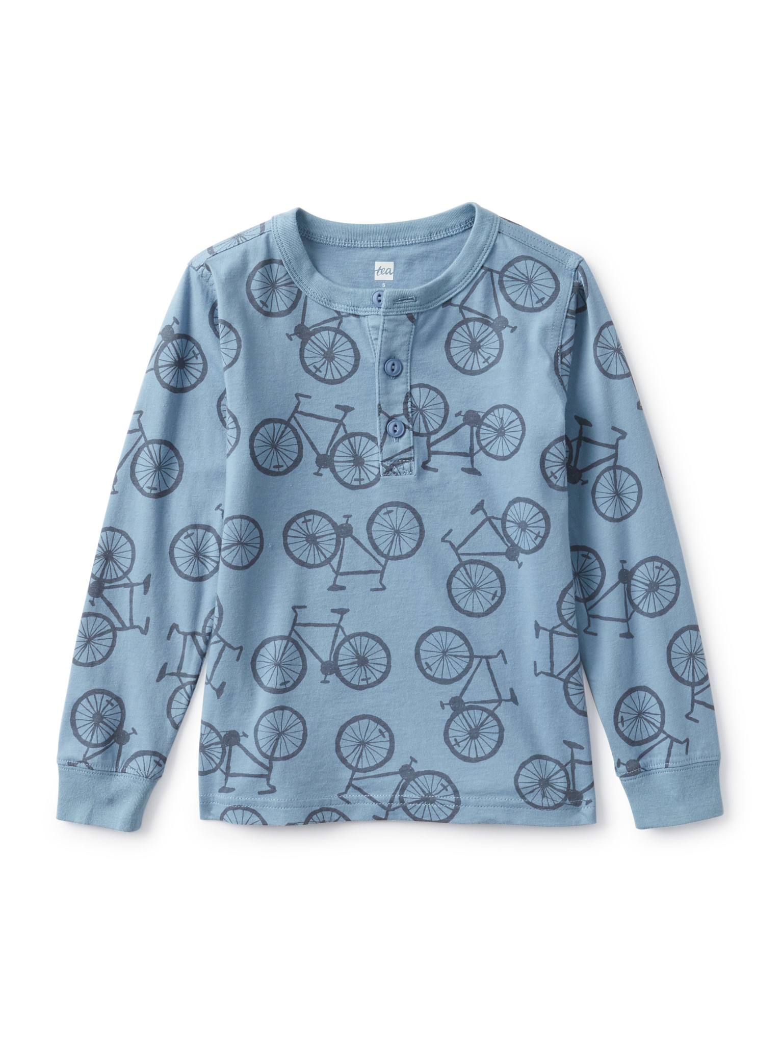 Tea Collection Henley Shirt - Pedal Power