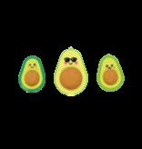 Ooly Avocado Love Erasers & Sharpener
