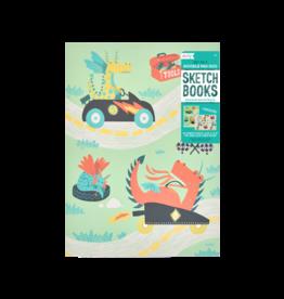 Ooly Duo Sketchbook - Dragon Racetrack