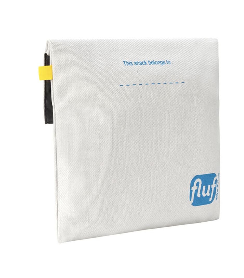 Fluf Flip Snack Sack - Bread Blue