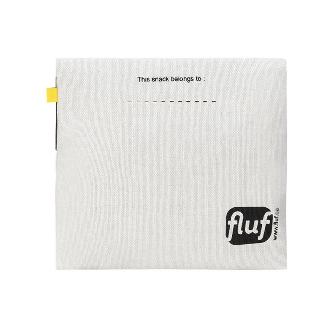 Fluf Flip Snack Sack - Bread Black