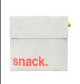 Fluf Flip Snack Sack - Snack Orange